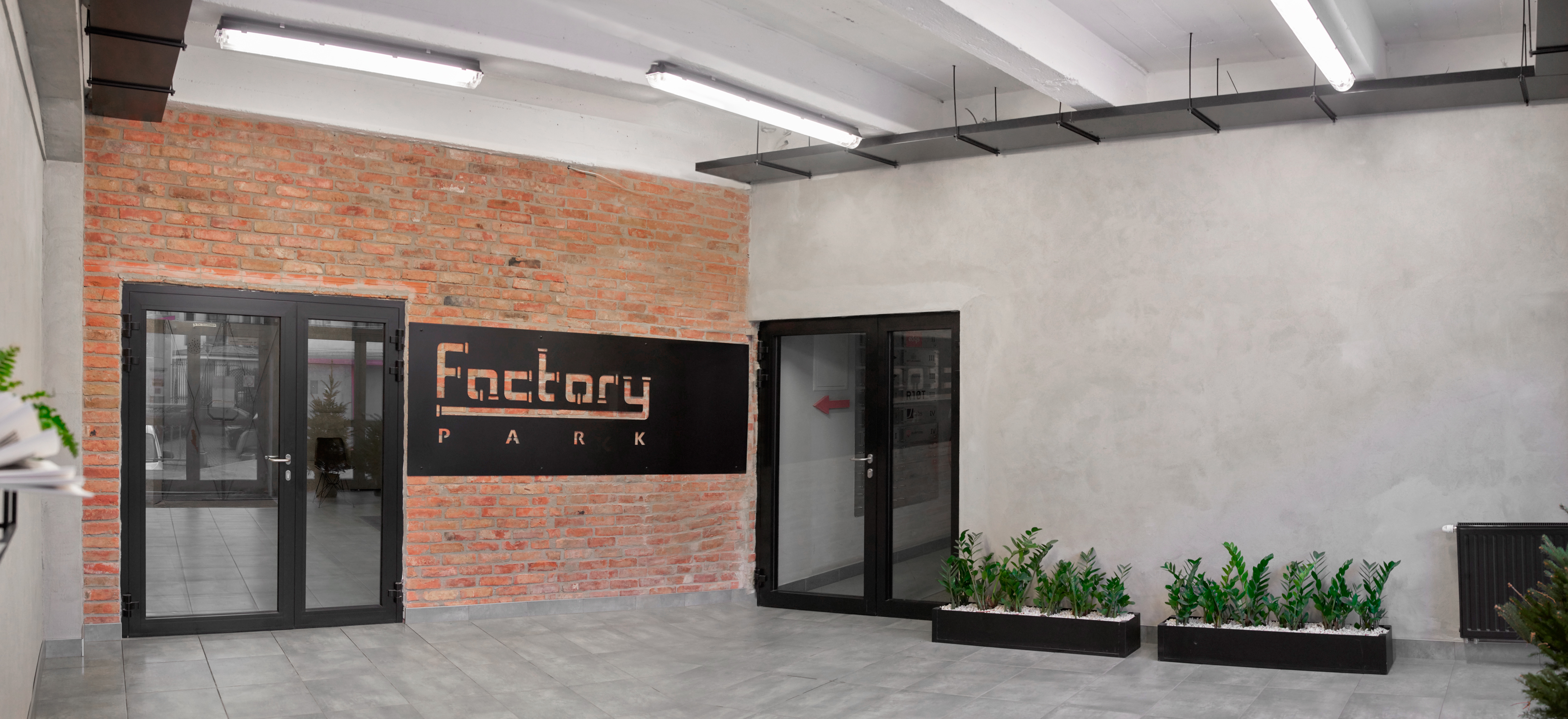 Factory Park Przemysłowa 12 klatka schodowa